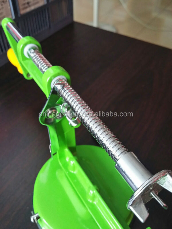 stainless steel blades of spiral vegetable slicer