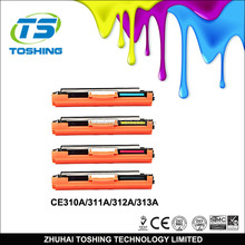 color toner cartridge empty for LaserJet Pro CP1025 CP1025NW
