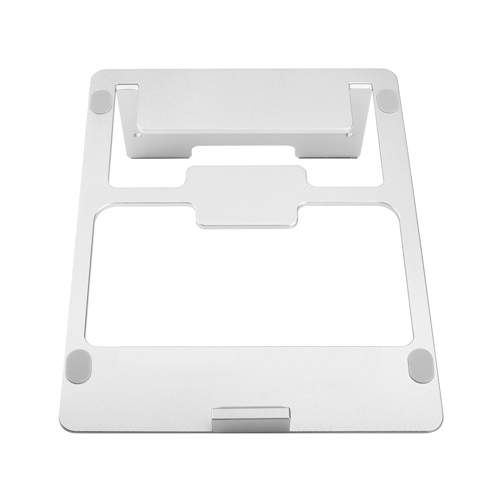 high quality Folding portable laptop holder notebook computer stand / Aluminium metal laptop stand holder