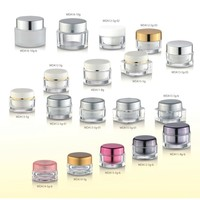 hot sale acrylic skincare jars