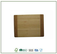 Square Bamboo Vegetable Chopping Board Cheese Board