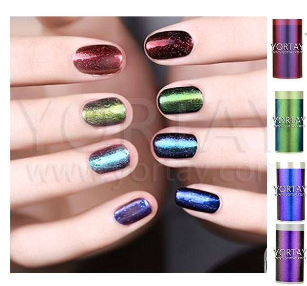 color changing pigment for nail polish / chameleon pigment for cosmetic