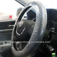 Auto Repair Clear Plastic Car Steering Wheel Covers