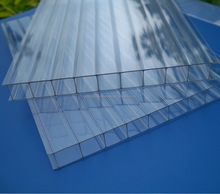 100 Lexan Virgin Cellular Polycarbonato PC Polycarbonate Roofing Sheet for Greenhouse