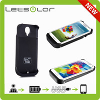 solar battery case for samsung galaxy s4 i9500 s4 mini i9190