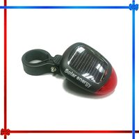 2 LED Solar Powered bicycle tail light