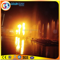Top Selling Customized Led Light Fire Spray Fountain
