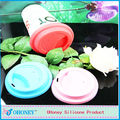 100% safe food grade silicone cup lid coffee mug for promotion gift