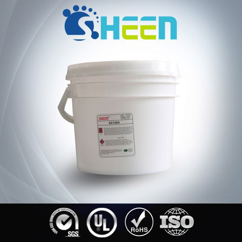 Thermal Conductivity Rapid Cured Steel Epoxy Glue For Cob Bonding