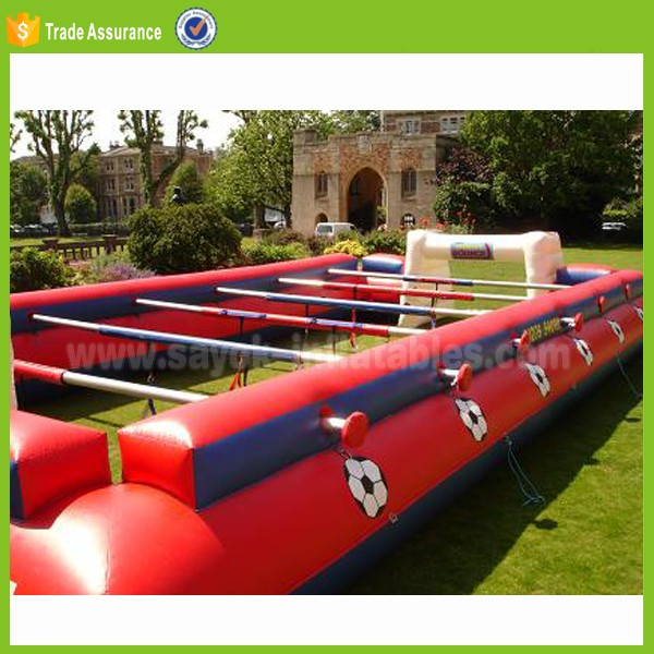 inflatable football toss sport game on sale blow up foldable soccer golf