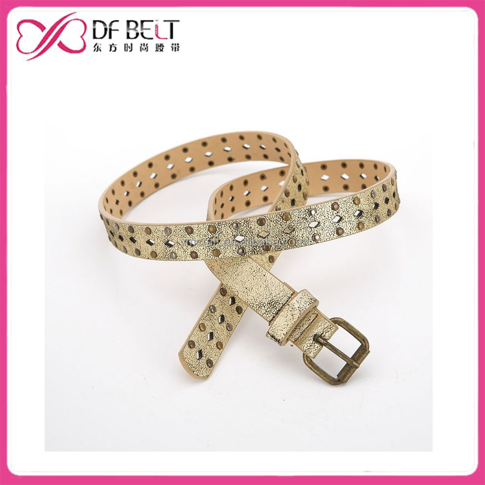 2014 Hot Sells Fashion business pin buckle pu belt for woman and man