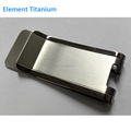 titanium tie clip for men.titanium stickpin,necktie clip,titanium money clip card holder