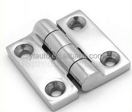 Industrial stainless steel electrical cabinet / door / panel hinges with cheap price & polishing