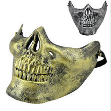 Halloween Skeleton Warrior Field CS Army fans Kito anti-terrorism field masks half face mask