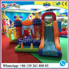 Inflatable horse top fun rotating bounce rides from outside outdoor toys