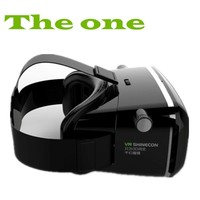 Original Shinecon Virtual Reality 3D Movies Games Viewing Headset Glasses VR Box For 3.5 to 6.0 inch phone + Remote Controller