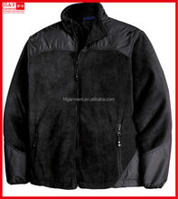 Super warm men's winter jackets for hiking or exploration in black