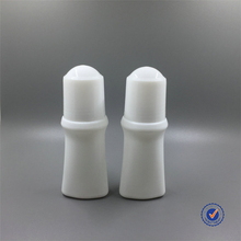 China Manufacturer Packaging Roll-On White Plastic Roll On Bottle For Cosmetic