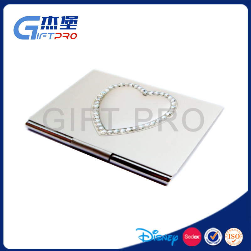 Custom stainless steel metal blank bussiness card case,card holder
