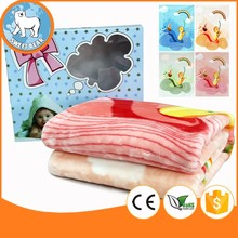 Bear Textile Adequate Production Bushy baby blanket and pillow