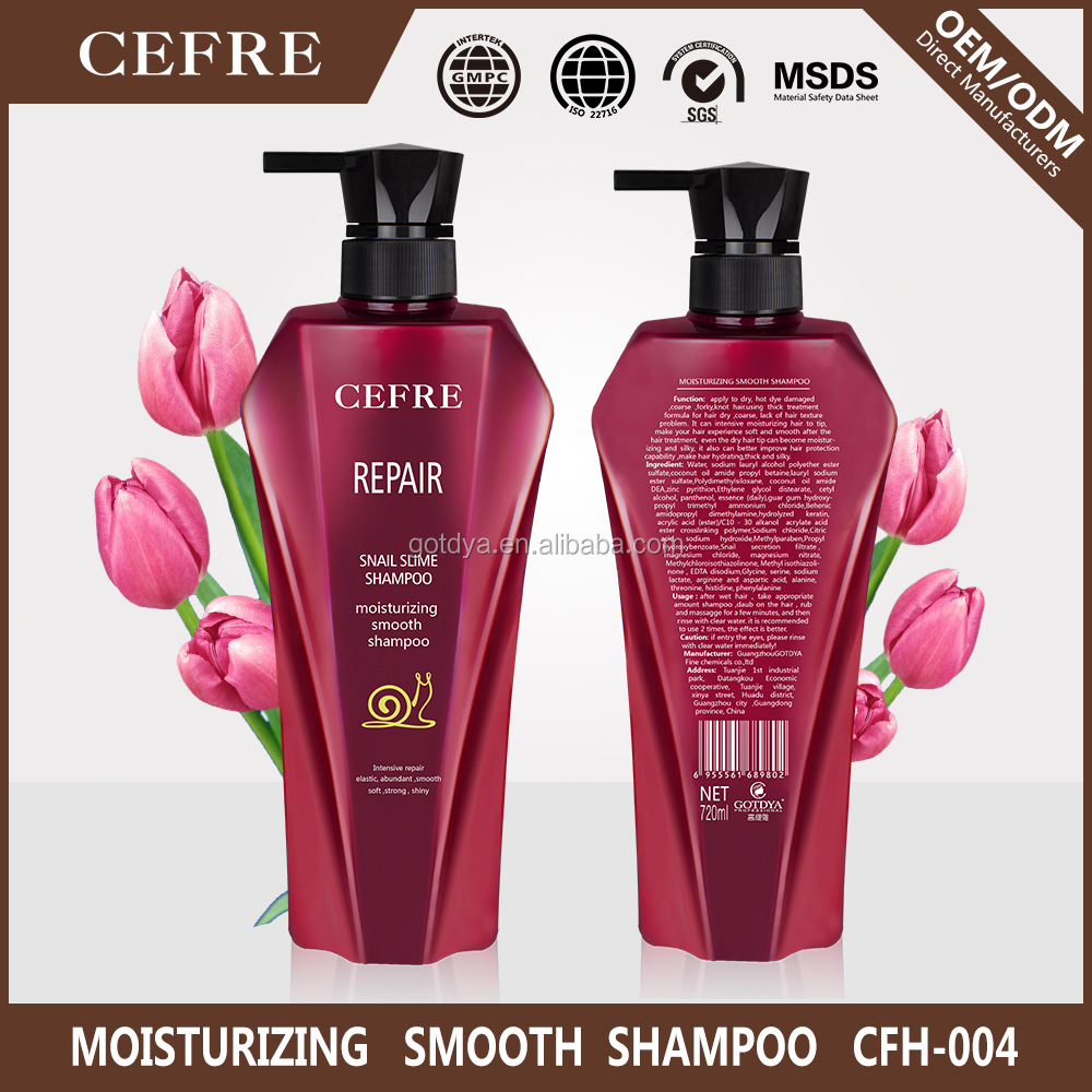 OEM best care deep moisturizing smoothing hair shampoo brand