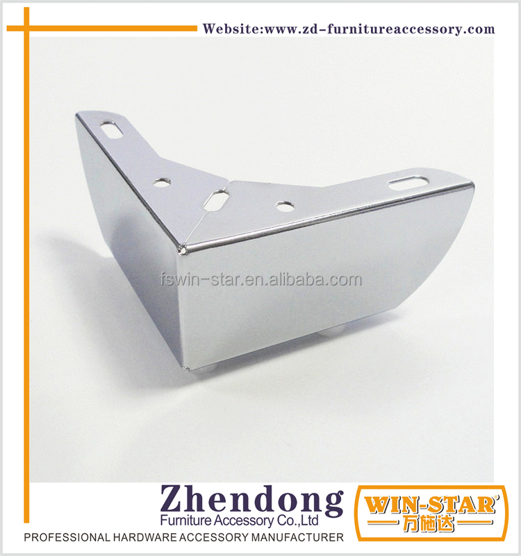 ZD-D003-A Popular Metal Sofa Legs Chrome Furniture Table Leg