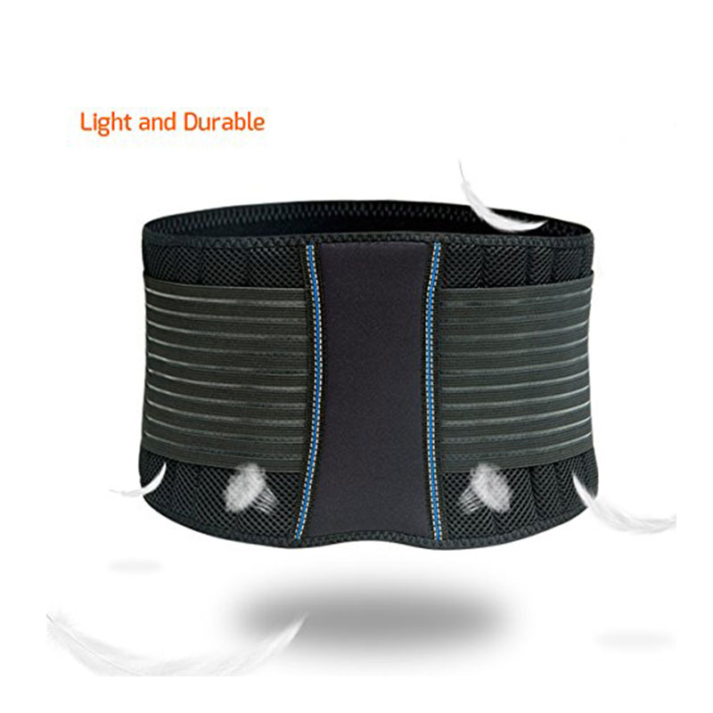Hot Selling New Design Adjustable Breathable Comfortable Neoprene Lower Back Support Belt