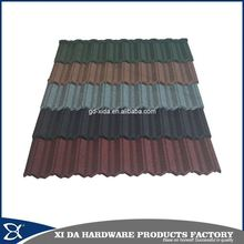 Manufacture price copper colored metal roof tile