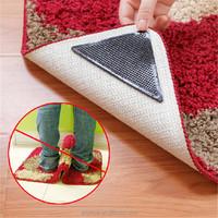 Factory OEM logo design PU sticky anti slip rug grippers