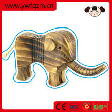 china wholesale wood carved elephant wooden statues