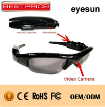 ECM-SU01 Cheap HD Camcorder Sunglasses Camera Mobile Eyewear Video Recorder