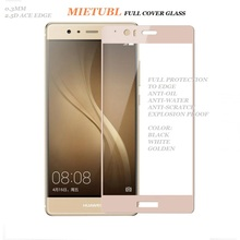 9H FULL COVER 0.3MM 2.5D TEMPERED GLASS SCREEN PROTECTOR FOR HUAWEI P9 PLUS
