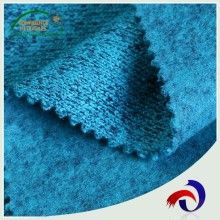 New design knitted 100 polyester 100% polyester french terry fleece velvet fabric for wholesales