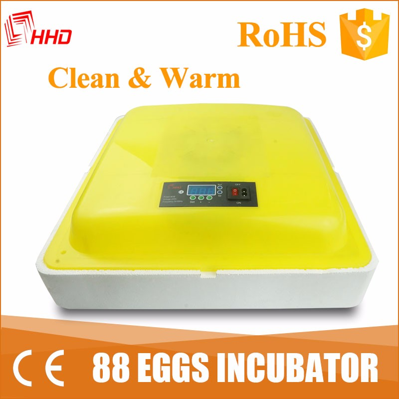 HHD 2017 newest design foam type egg incubator for hatching basket for sale YZ-88