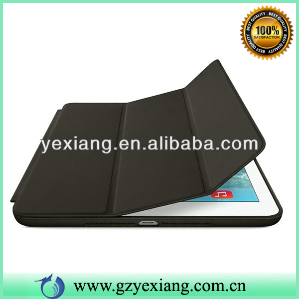 High Quality Black 3 Folding Flip Smart Cover For Ipad Air