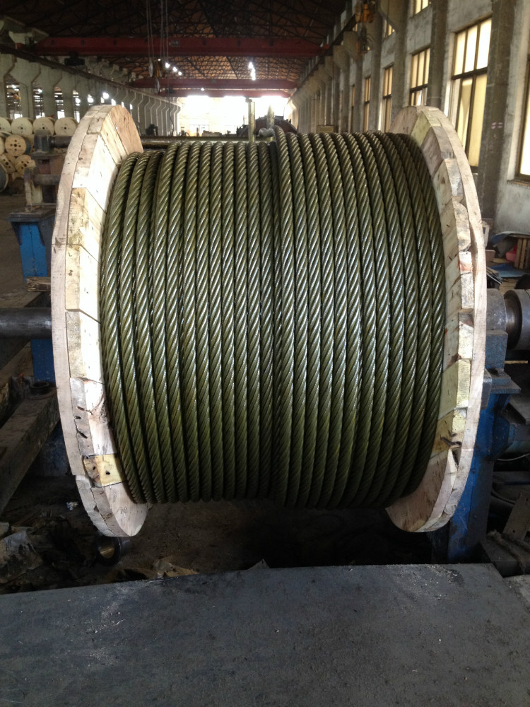 steel wire rope specifications steel tension cable 6x25 marine steel wire rope 9.6mm