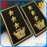 Personalized OEM epaulette rank for military