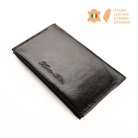 Italian Vegetable Tanned Genuine Leather Card Holder