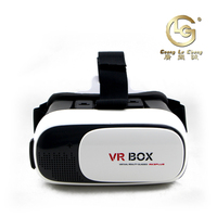 Guangzhou vr virtual reality sex video vr box 3d glasses for movie and games