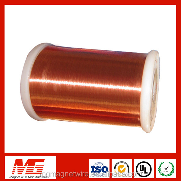 UL certificated lead 0.8mm 180 class enamelled wired <strong>copper</strong> for sale