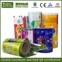 colored plastic film on roll /lamination all kinds of packaging film
