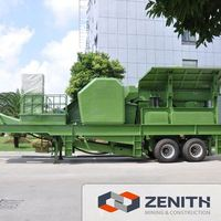 High quality mobile crusher run machine in sabah with SGS&CE certification