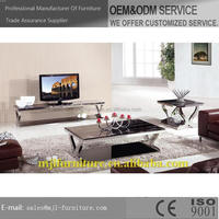 Fashionable Cheapest modern marble long tv stand