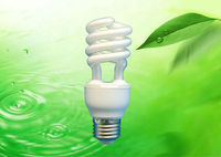 18W HALF SPIRAL ENERGY SAVING LAMP 220-240V