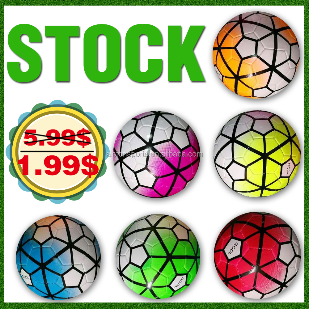 official size 5 stock Cheap football /Soccer <strong>Balls</strong>