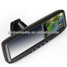 4.3inch car gps rearview mirror gps with bluetooth, HD camera for all cars