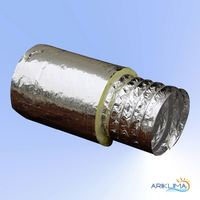Durable aluminum pre-insulated duct for airconditioning FDIS