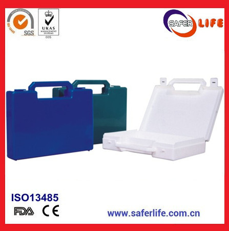 Wholesale PP Material emergency plastic empty first aid kit tool box case with holder