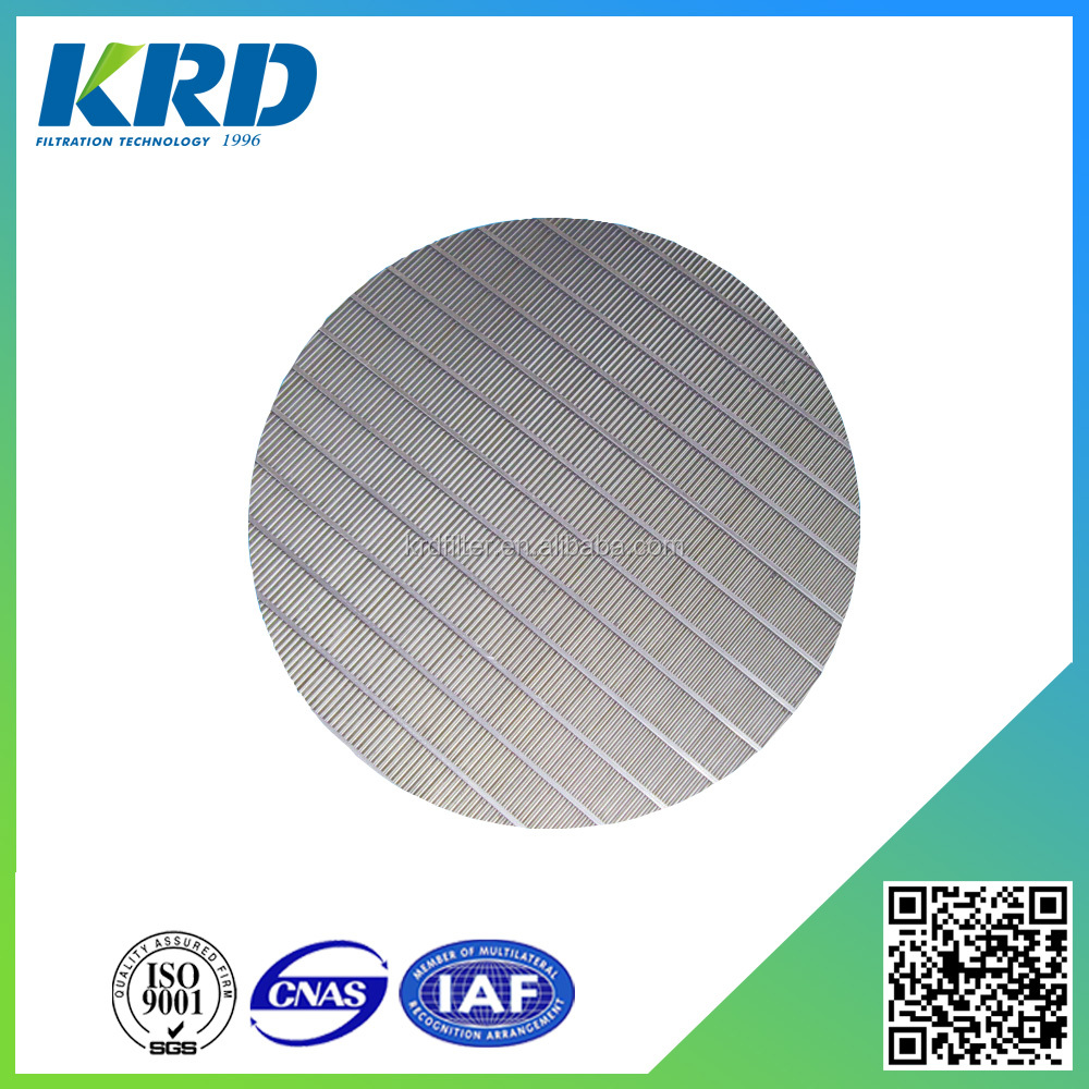Round Stainless Steel Water Screen Filter