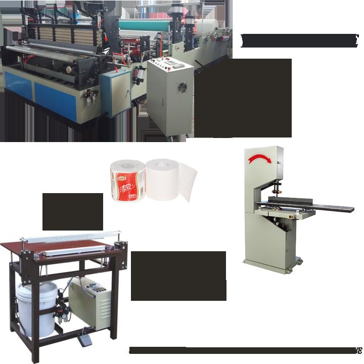 toilet paper manufacturing machine prices